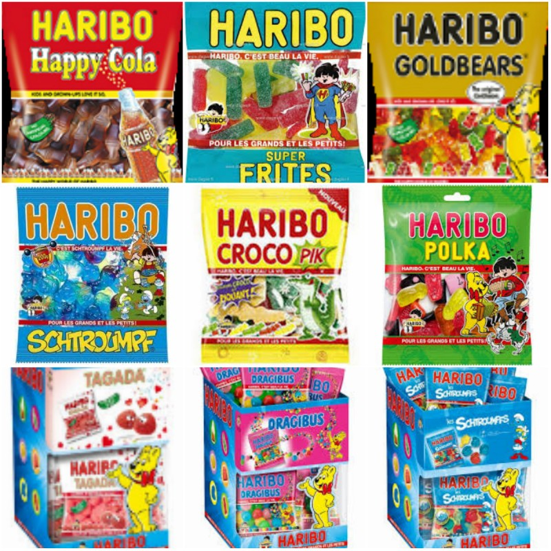 collage haribo