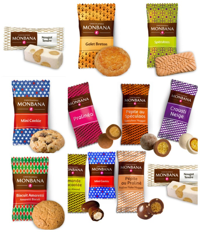 collage hospitality chocolates biscuits
